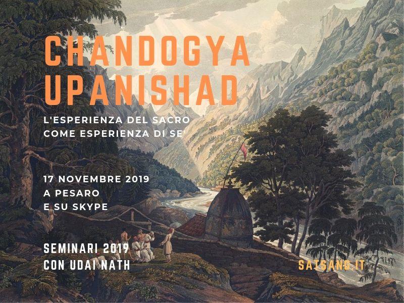 Chandogya Upanishad. L'esperienza del sacro come esperienza di Sé.