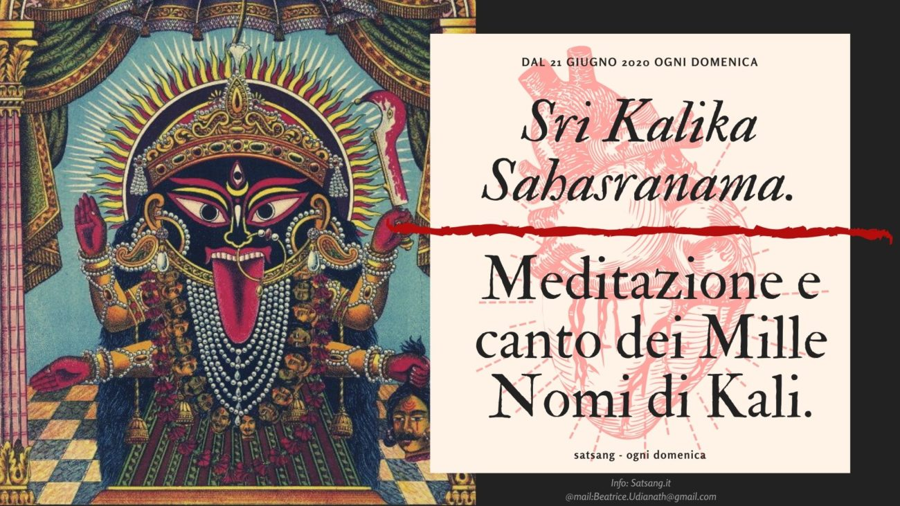 Satsang 2020. Sri Kalika Sahasranama.